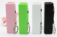 Wholesale Colorful mAh USB Portable External Battery Power Bank Charger For Cell Phone Mobile MP3 Mp4 with retail pack