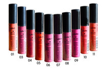 Wholesale 100 quality assurance nyx soft matte dull liquid NYX lipstick vintage long lasting NYX lip gloss g piece