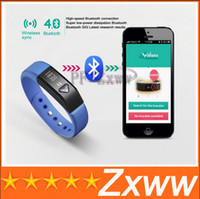 Cheap Hot Smart Sport Wristband Bluetooth 4.0 IP65 Waterproof Bracelet For iPhone Android Cell Phone Wearable Healthy Vidonn X5 Smart Watch HZ 709