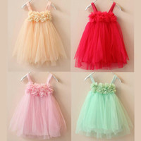 Wholesale Girls Dresses Cute Baby Girls Lace dress Clothes Wedding Dresses Design Kids Dress Children Clothing baby Girls Party Dresses Tutu Skirt