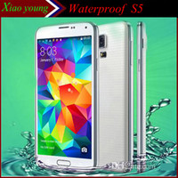 Wholesale Waterproof S5 i9600 Octa core MTK6592 GHZ Remote TV control inch GB GB Android KitKat Unlocked Smart