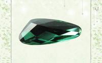 cz stones - Wuzhou wholesales good quality green CZ stone cubic zircon