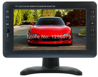 Wholesale Televisions inch TFT LCD Color digital Portable TV With Wide View Angle Support SD MMC Card USB Flash Disk