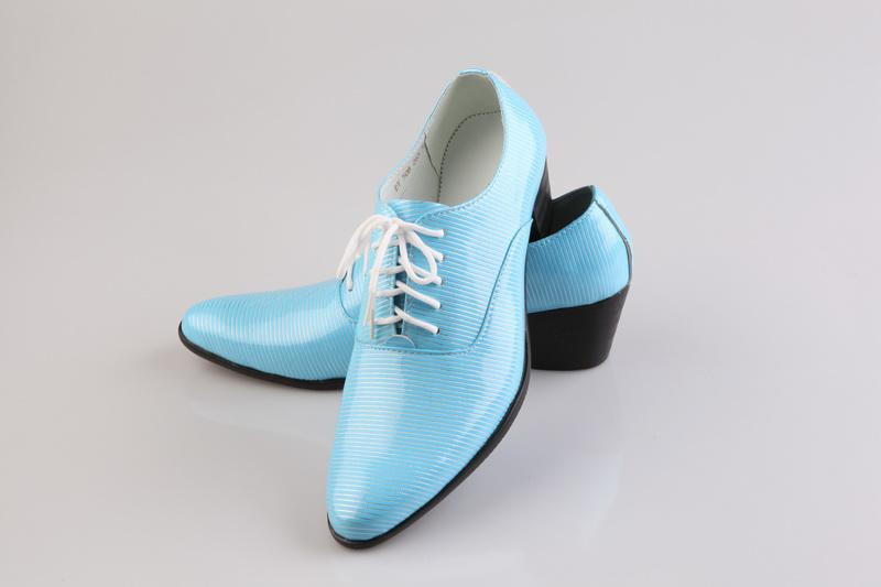 Sky Blue Mens Loafers Wedding Shoes Party Shoes Dress Shoes Business Shoes 40 44 Cute Shoes