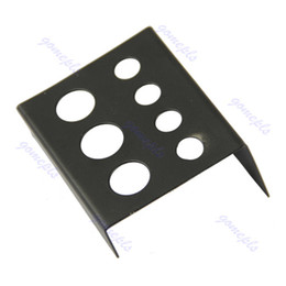 Wholesale Hot Sell Black Stainless Steel Tattoo Ink Cup Cap Holder Stand Supply