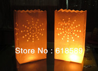 Cheap Hot Sale !!! Candle Safe Lantern Paper Paper Lanterns For Wedding Party Decorations Tealight Garden Bags Tea Light Candle Bag