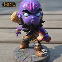 Ryze HQ Plastic Action Figures & Model The Rogue Mage Ryze Figures LOL Champions Action Figures 10cm League of Legends Game Accessories Mini Model Toys New Arrival Hot Selling