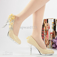 Cheap 2014 Wedding Shoes Bridal Accessories 2015 Cheap NewestGlitter Silver 10cm Bridal High Heels Shoes Wedding Bridesmaid Shoes Party Shoe Size