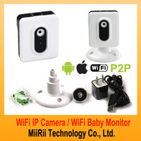Wholesale MR112 Wireless WIFI Portable Mini IP Camera Baby Monitor for iPhone Android Camera AP Setup Wifi MiiRii Tchnology