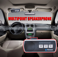 Wholesale Bluetooth car Kit with car charger Handfree Transmitter Modulator
