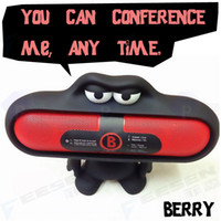 Cheap New Arrival 3D Doll Fashion Multifunction Cartoon Big Mouth Speaker Brackets & Mounts For Beats Pill