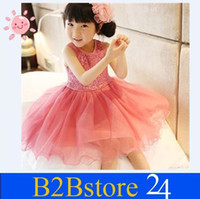 2014 Baby Girls Summer Tutu Dresses Paillette Girls Clothing...