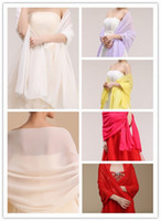 Wholesale Oversized Chiffon Shawl Wrap Bridal Bridesmaid Formal quot Long x quot Wide Many Colors UV protection Lady Shawl