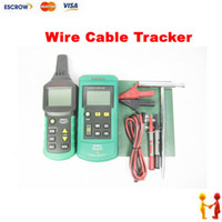 Wholesale Mastech MS6818 Wire Cable Tracker Finder Metal Pipe Locator Detector Tester Meter AC DC V