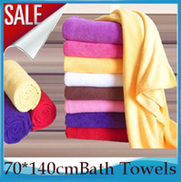 Wholesale 2PCS Large Size cm Adult Childs Kids Superdry Bath Towels Microfiber Super Absorbent Shower Towels Shower Beach Towels