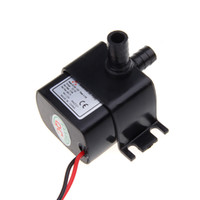 12v dc water pump - Ultra quiet Mini DC V Micro Brushless Water Oil Pump Submersible L H W Lift M H10448