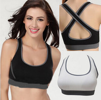Wholesale Womens Cozy Padded Seamless Comfy Cotton Back Cross Sports Yoga Leisure Vest Bra CW22005