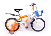 Wholesale 16 inch Children bike steel BMX frame steel color rim Students bicycle color handlebar