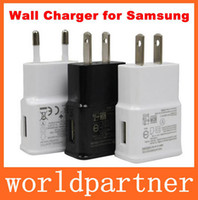 Wholesale USB AC Wall Cjharger V A US EU Plug Power Adapter for Samsung Galaxy S3 S4 S5 I9600 Note N9000 HTC One M8 Sony Xperia Z2 LG G3 Color