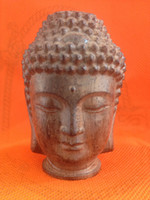 buddha statues - Old China Tibet carvings of Buddha head Statues Collectibles Buddha Religion CM