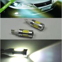 Wholesale Hot Sale T10 White w High Power LED Bulbs side mark parking light projector w5w