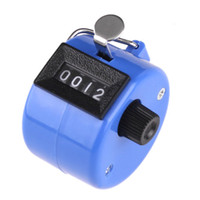 Wholesale Golf Handheld Manual Digit Number Tally Counter dropshipping H1773BL