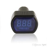 Wholesale Sale Mini LED Digital Auto Car Battery Voltmeter Electric Vehicle Voltage Tester Volt Meter Gauge Monitor V V CEC_625