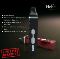 Wholesale 2014 latest Portable Dry herb Vaporizer with Hebe Vapor Titan Vaporizer factory price free price