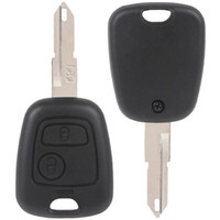 Wholesale Portable Buttons Peugeot Remote Car Key Case amp Blade