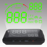 Wholesale Mini Car Vehicle mounted Display HUD System with Humanity Speaking and Reminding