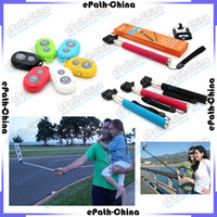 Wholesale Extendable Telescopic Handheld Monopod Bluetooth Camera Remote Controller For iPhone S iPad Digital Camera