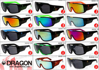 Wholesale 2014 Dragon DOMO Remix men Designer sunglasses Cycling eyewear Dragon Brand Coating glasses Drragon DOMO pc with retail box