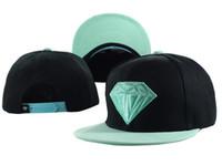 Wholesale Diamond Hat Snapback Caps Women Snap back Men Baseball Caps Sports Cap Fashion Brand Hip Hop Caps