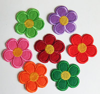 Wholesale random cute pretty Flower Embroidered sew or Iron on Patch quot x1 quot