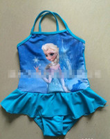 2014 New Arrival Summer Frozen Elsa Children Girls Lovely Sw...