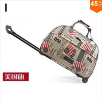 Wholesale New fashion women and men travel bags luggage wheels suitcase for travel luggages trolley rolling luggage