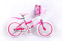 Wholesale 20 inch Children bike steel BMX frame alloy color rim Students bicycle color handlebar