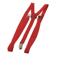 Wholesale 8pcs Mens Womens Clip on Adjustable Elastic Pants Y back Suspender Braces Belt DropShipping