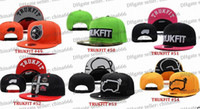 Wholesale HOT SELL camo trukfit snapback hat custom skate MISFIT hats snapbacks snap back cap mixed men women caps color