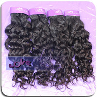 Wholesale 7A Indian Italian Curly Human Hair Weft Real Virgin Remy Hair Made No Shedding No Tangle Single Drawn Double Layers