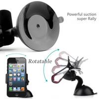 Cheap Multi-function Car Phone Holder Glass Sucker Stander & Desktop Bed Bracket Mount for iPhone 4 5 Samsung MP3 MP4 Digital Camera GPS