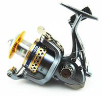 Cheap K4008 Hot Sale Fishing Reel 7+1 BBs High Speed Spinning Reel Good Quality Fishing Tackle Free Shipping Ocean Fishing