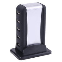 7 porte ad Alta Velocità USB 2.0 HUB con alimentazione AC Cavo Adattatore UK US EU Plug Opzionale per Computer C1082