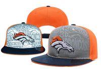 Wholesale Broncos Snapbacks Draft Highly Reflective Surface Snapback Caps American Football Snap Backs Hats All Team Snap Back Cap Sports Caps