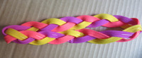 band interface - Knit hair bandhead elastic band head braided headband High quality welding interface DHL