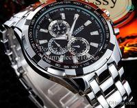 55g adjustable buckles - 50pcs hot Full steel New CURREN Fashion Men Watch Adjustable Stainless Steel Watchband Men s Sport Quartz Wrist Watch
