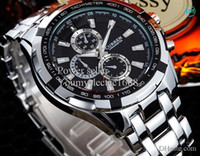 Wholesale New CURREN Fashion Men Watch Adjustable Stainless Steel Watchband Men s Sport Quartz Wrist Watch