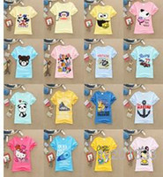 t shirts manufacturer - Special offer children s wear t shirts with short sleeves Children s clothing manufacturers selling new summer dresses children