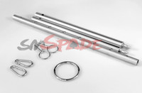 Wholesale Stainless steel spreader bar for restraint hand cuff and collar adult restraint accessories sex product for couple