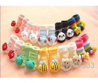 baby girl buy - Every day set limit to buy cotton baby doll socks stereo socks Han edition tube children s socks
